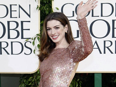 Anne Hathaway. Image from IBNlive