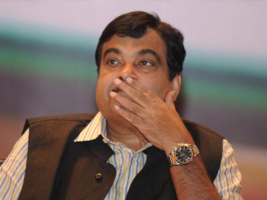 A file photo of Nitin Gadkari. AFP
