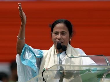 A file photo of Mamata Banerjee. AFP