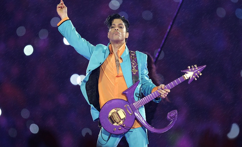 File image of Prince performing during the halftime show at the Super Bowl XLI football game at Dolphin Stadium in Miami, in 2007. AP