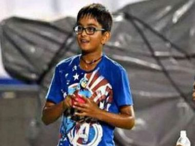 Chip off the old 'wall'? Rahul Dravid's 10-year-old son Samit smashes century in Under-14 match