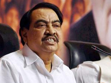 Khadse left for Jalgaon late on Monday night and was in the Muktainagar Assembly constituency as per a scheduled event. PTI