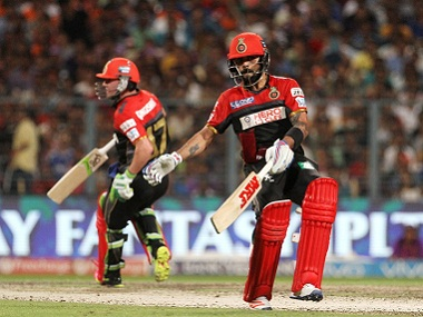 IPL 2016, RCB vs KXIP as it happened: Kohli ton powers big RCB win in rain-shortened match