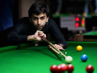 File photo of Pankaj Advani. PTI