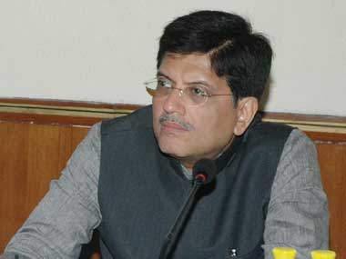 Union Power Minister Piyush Goyal.