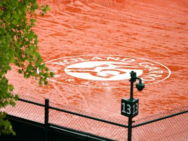 French Open 2016, Day 9 as it happened: Play for the day cancelled due to rain