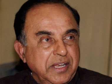 BJP MP Subramaniam Swamy. PTI