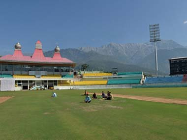 File photo of the HPCA Stadium in Dharamsala. Getty Images