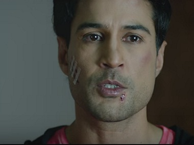 Rajeev Khandelwal in Fever. Screengrab from YouTube