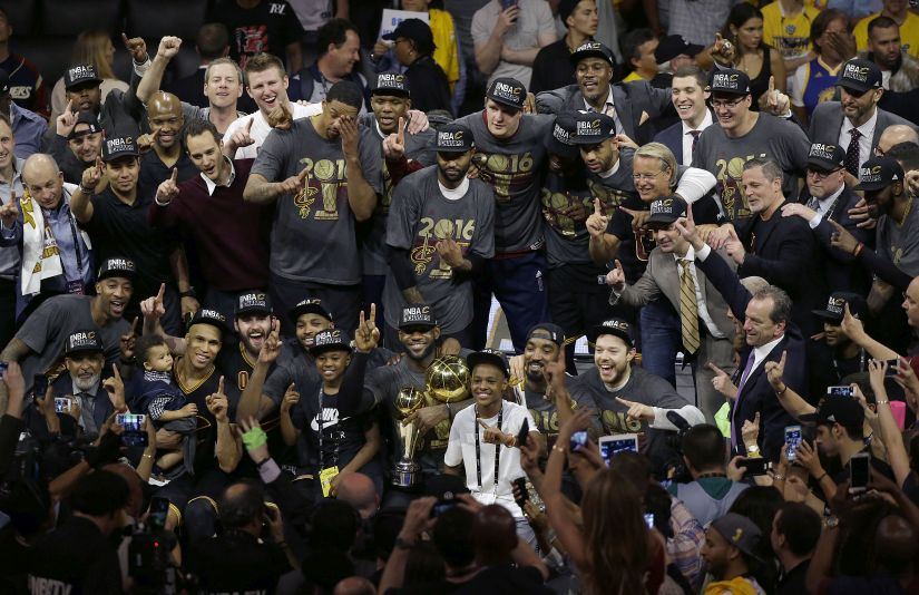 NBA finals: Leading Cleveland Cavaliers to historic win ...