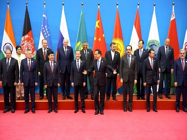 Representational image of the 14th Shanghai Cooperation Organisation (SCO) summit. Reuters