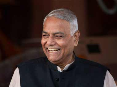 A file photo of Yashwant Sinha. PTI