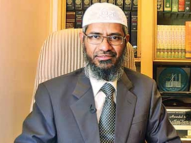 A file image of controversial televangelist Zakir Naik. CNN-News18