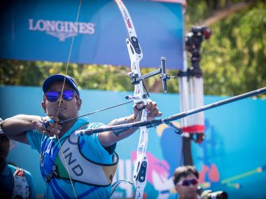Atanu Das will be India's sole representative in the men's singles category in Archey at 2016 Olympics. GettyImages