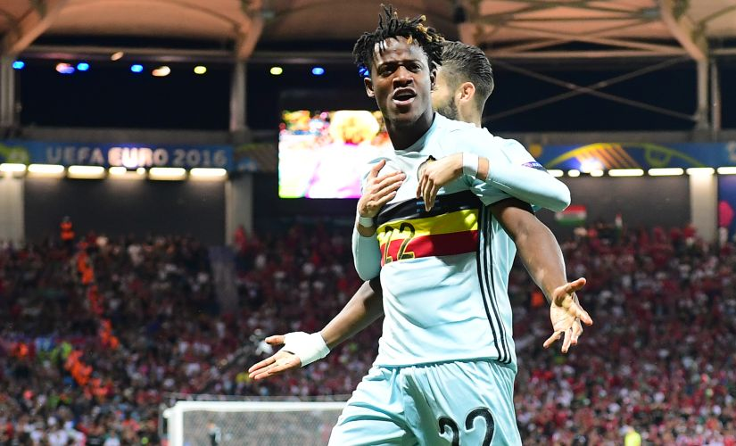 Michy Batshuayi remains Belgium's best goalscoring chance even though he is yet to start a game for the Red Devils. AFP