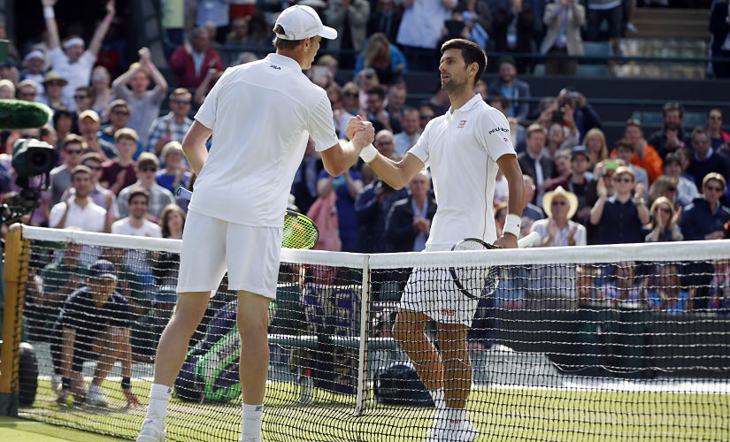 Djokovic's loss to Querrey at the Wimbledon was his first shock exit at a Grand Slam since his loss to Stanislas Wawrinka at the 2015 French Open. AP