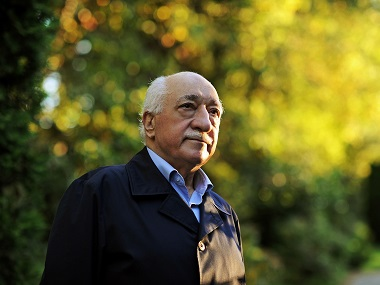 File photo of Turkish Islamic preacher Fethullah Gulen. AP