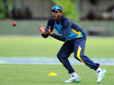 Sri Lankan cricketer Kithuruwan Vithanage. AFP