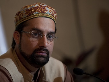 Kashmiri separatist Hurriyat Conference Mirwaiz Umer Farooq.  File photo AFP
