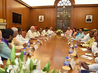 Modi cabinet reshuffle _380