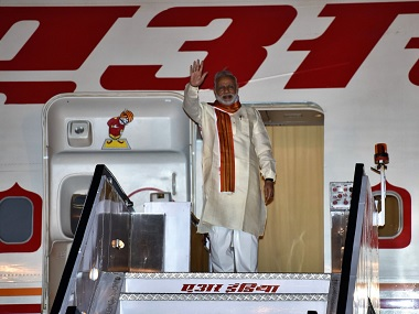 Prime Minister Narendra Modi sets off on his five-day visit to Africa. Twitter/@MEAIndia