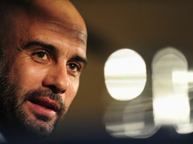 Manchester City manager Pep Guardiola. Getty