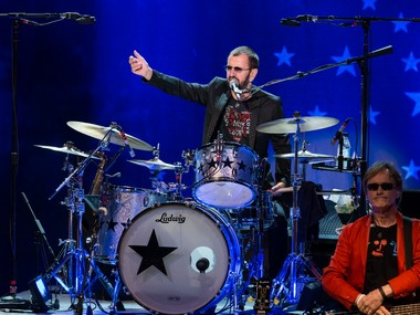 A file photo of Ringo Starr. AP