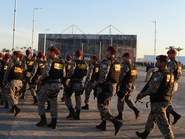 Police forces have come under gunfire in Rio de Janeiro ahead of Olympics. AFP