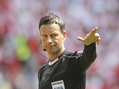 Referee Mark Clattenburg . AP