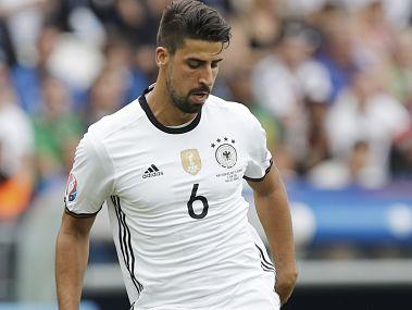 Germany's Sami Khedira. AP