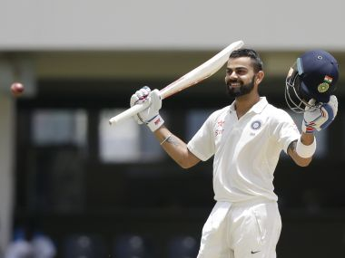 Virat Kohli has earned praise from Sir Vivian Richards for his double-hundred against West Indies. AP