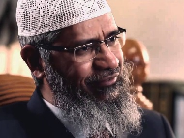 File image of Zakir Naik. YouTube