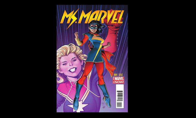 Kamala Khan as Ms Marvel. Image courtesy: Wikimedia Commons