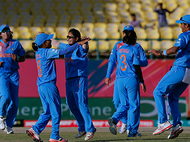 File photo of the Indian team. AP