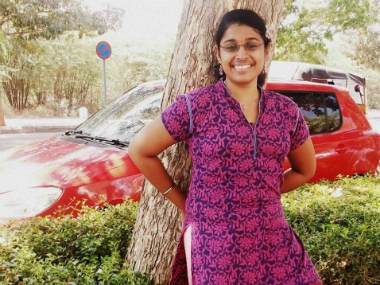 S Swathi, an Infosys employee was hacked to death by her stalker at Chennai's Nungambakkam railway station in June. Image courtesy: Facebook
