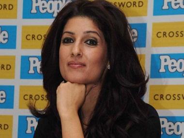 Twinkle Khanna aka 'Mrs Funnybones'