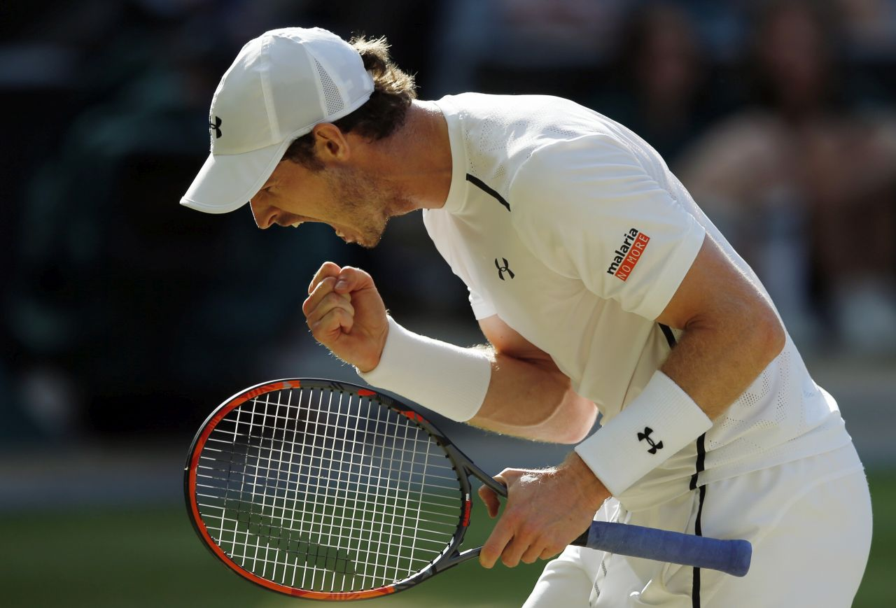 Andy Murray of Britain. AP