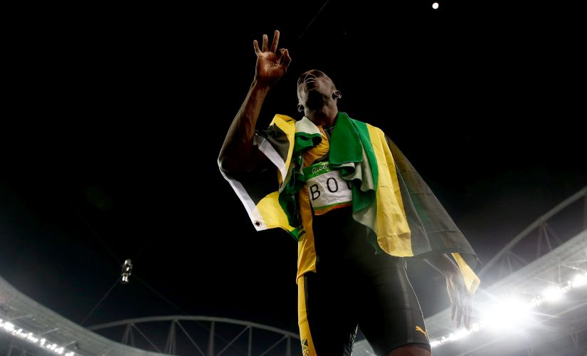 Usain Bolt. Getty