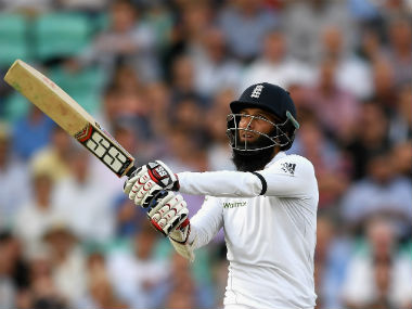 Moeen Ali hammered his third Test century after being dropped twice. Getty Images