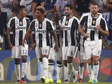 Sami Khedira netted the winner for Juventus as they maintained their perfect start to the Seriae A season. AFP