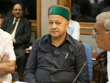 A file photo of Virbhadra Singh. AFP