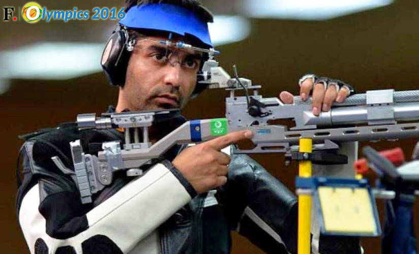 Abhinav Bindra. Getty Images