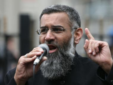 File photo of Anjem Choudary. AP