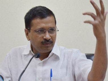 File image of AAP chief Arvind Kejriwal. Getty images