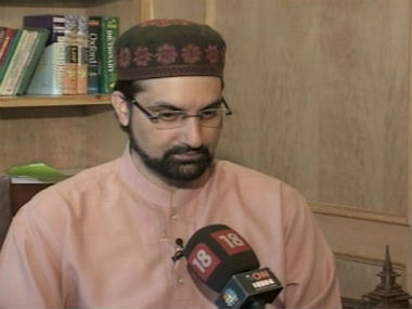 File image of Mirwaiz Umar Farooq. CNN-News18