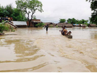 Representational image of Uttar Pradesh floods. CNN-News18
