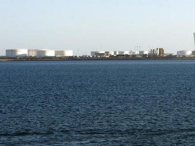 Oil docks at the port of Kalantari in the city of Chabahar. Reuters
