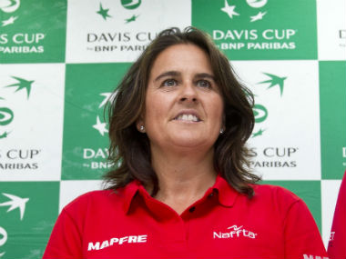Spain captain Conchita Martinez was all praise for the Indian Davis Cup team. AP