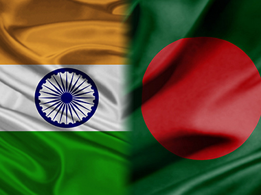India and Bangladesh flags.