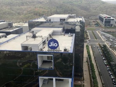 A general view of Reliance Jio headquarters is seen on the outskirts of Mumbai. REUTERS